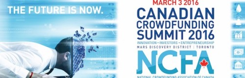 Canadian Crowdfunding Summit 2016