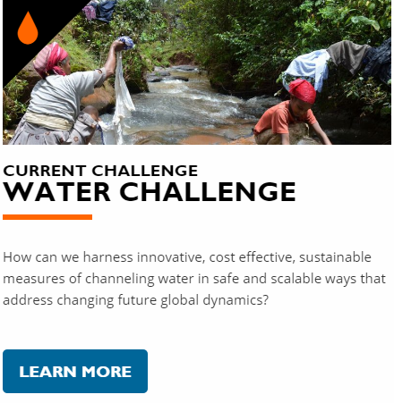 The World Vision Social Innovation Challenge - Water