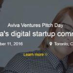 Aviva Ventures Pitch Day 2016