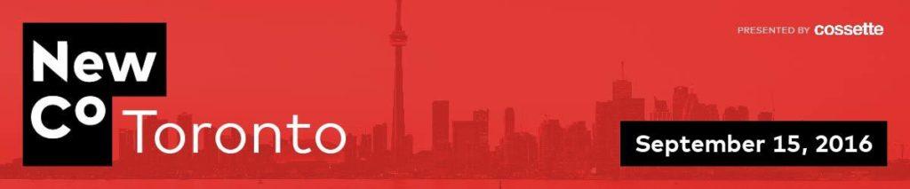 NewCo Toronto 2016