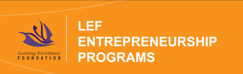 LEF Entrepreneurship Programs