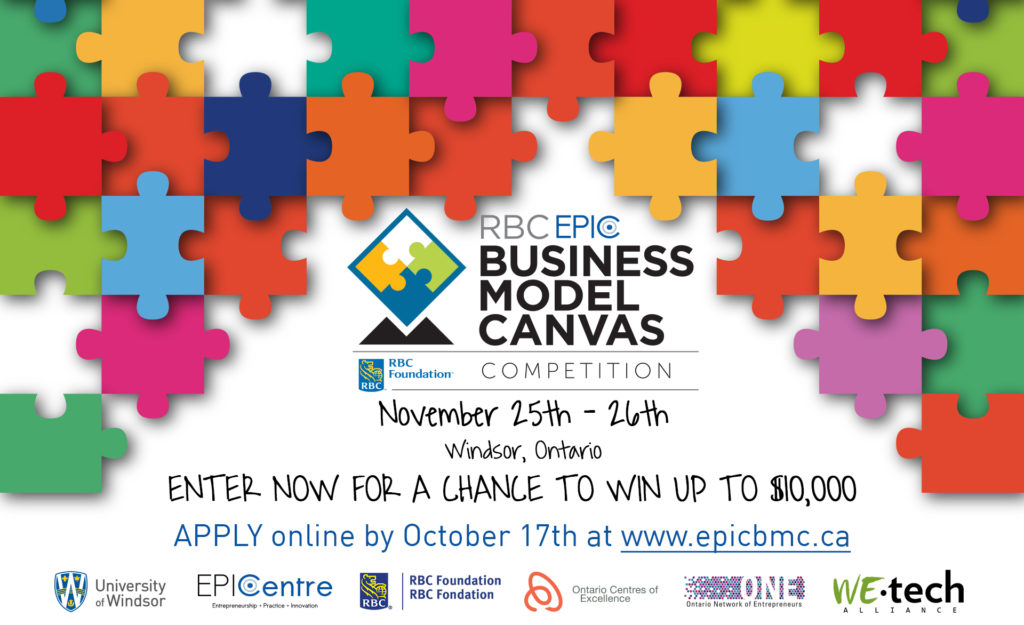University of Windsor's Inaugural Business Model Canvas Competition