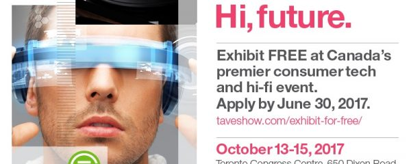 Free booth space for tech at TAVES