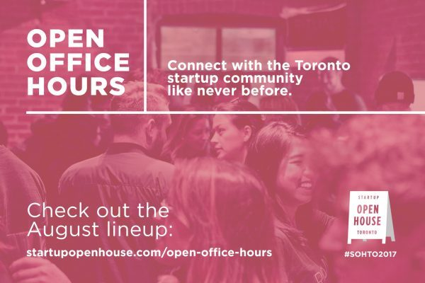 OPEN OFFICE HOURS UNLOCKS TORONTO'S MOST INNOVATIVE STARTUPS