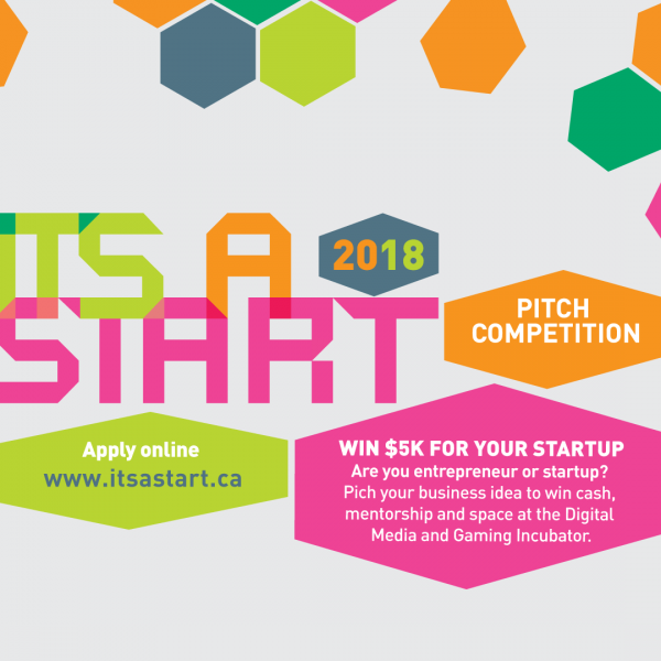 2018 IT'S A START Pitch Competition, Enter Today!