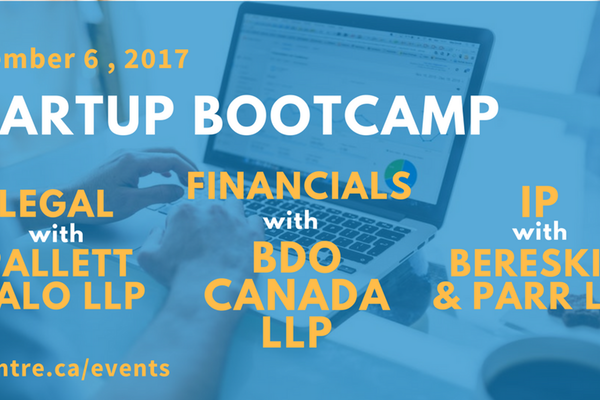 RIC Centre Startup Bootcamp