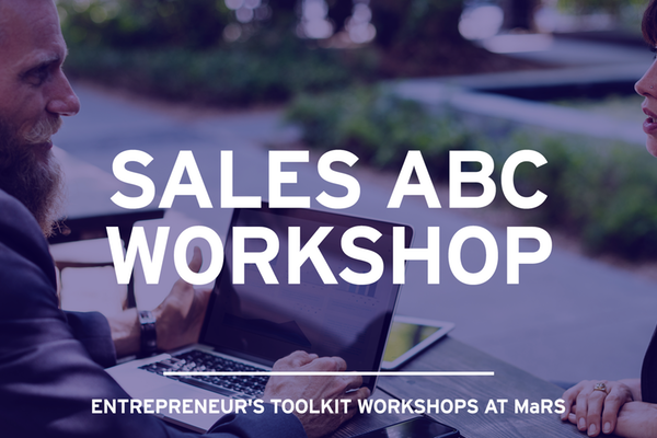 Sales ABC Workshop on December 5, 12 and 19, 2017