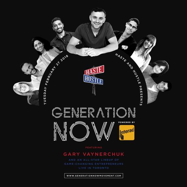 Generation Now – Haste & Hustle