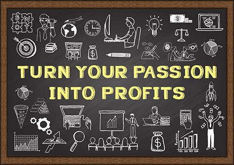 Passion Into Profit project
