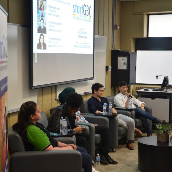 startGBC #WhyNotMe Panel Discussions Help Inspire Students to Pursue Entrepreneurship