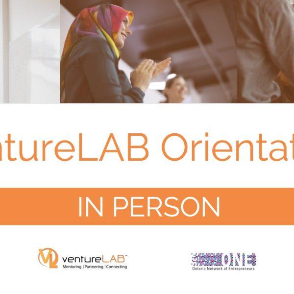ventureLAB Orientation