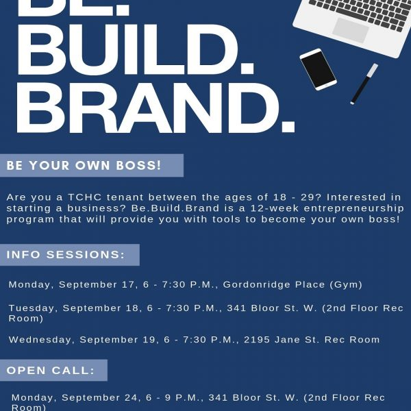 Toronto Community Housing Be.Build.Brand Program
