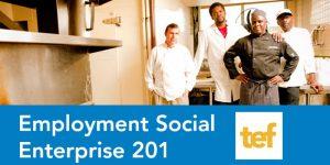 TEF Employment Social Enterprise 201 - Disability Inclusion Focus