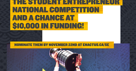 The 2018 Enactus Student Entrepreneur National Competition
