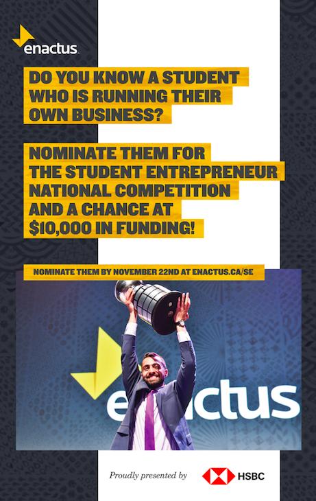 nactus Student Entrepreneur competition