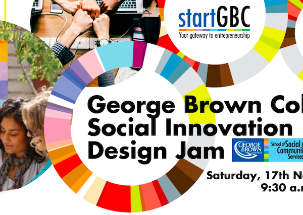 George Brown College Social Innovation Design Jam