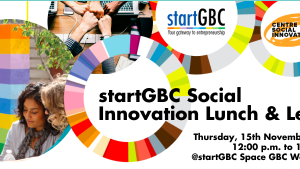 startGBC Social Innovation Lunch & Learn