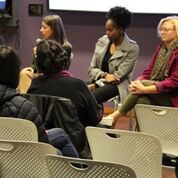 Aisha Addo, Nikole Goncalves, Dymika Harte and Carey Pearson