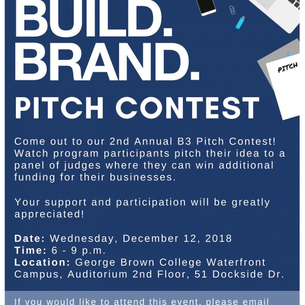 Be.Build.Brand. Toronto Community Housing Pitch Contest