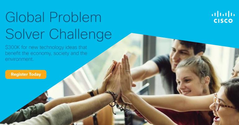 Cisco Global Problem Solver Challenge 2019
