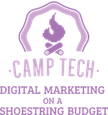 Camp Tech Logo promoting Digital Marketing on a Shoestring Budget