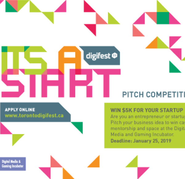 IT'S A START PITCH COMPETITION 2019