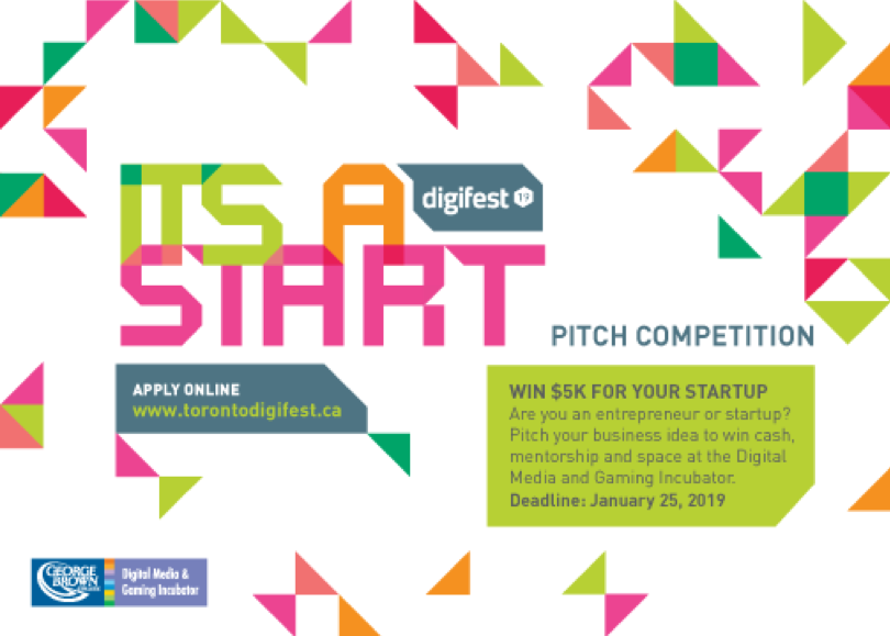 Its a start Pitch Competition