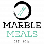 Marble Meals Logo - A fresh food business based in Toronto that provides meals designed to maintain your wellness