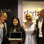 Pria Bangia, winner of Dell XPS 13 Notebook