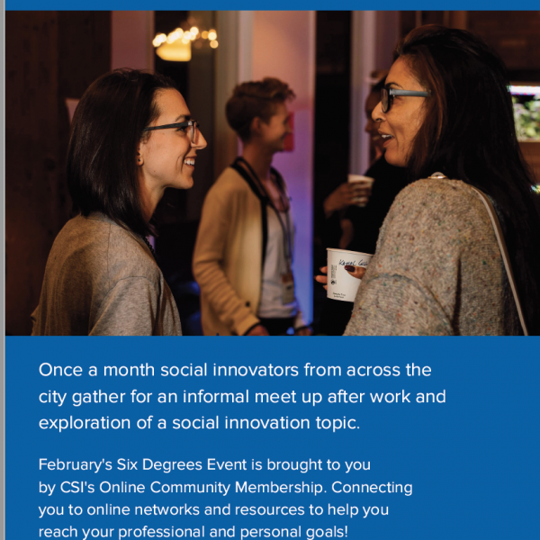 Six Degrees of Social Innovation: Connections, Networks & Communities