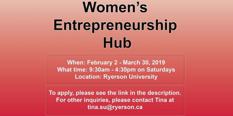 Women's Entrepreneurship Hub