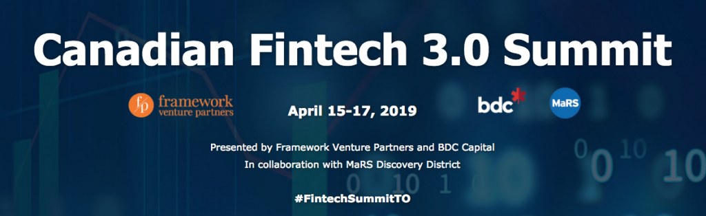 Canadian Fintech 3.0 Summit Poster