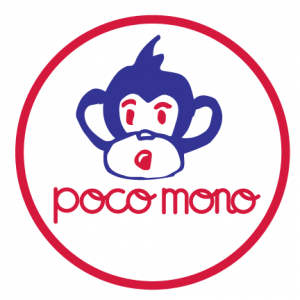 Poco Mono Logo as part of the Stackt Market installation
