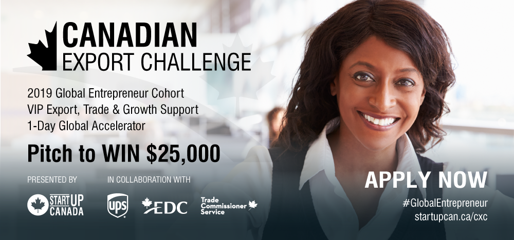 The Canadian Export Challenge Poster