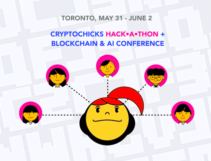 Cryptochicks promotional poster