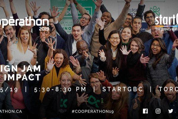 Cooperathon Design Jam for Impact in collaboration with startGBC