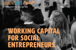 Working Capital for Social Entrepreneurs
