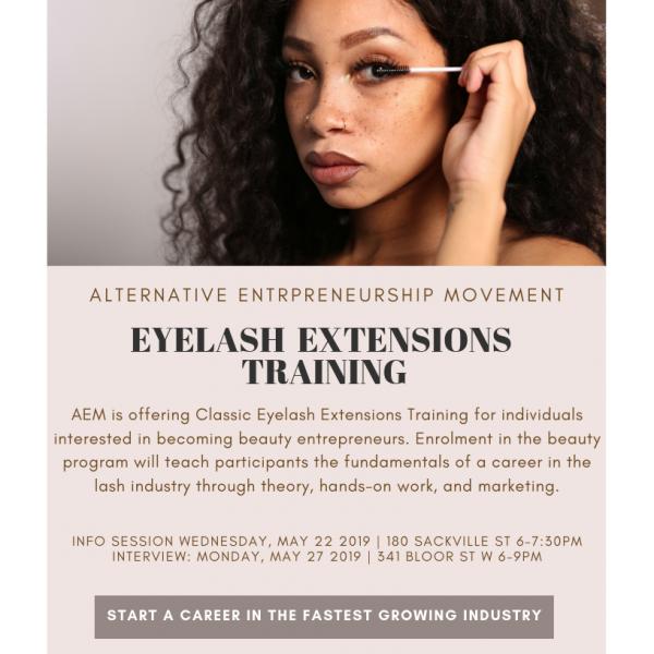 Eyelash Extension Training for Beauty Entrepreneurs