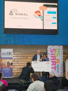 STAN AI Wins 1st Prize at ITS A START Pitch Competition at Digifest 2019