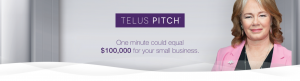 Telus Pitch poster