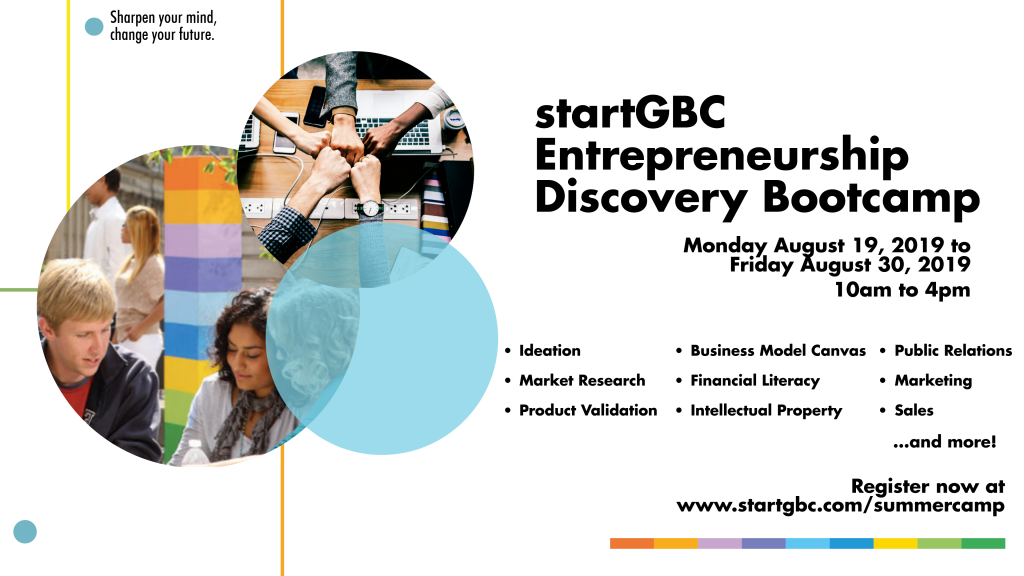 startGBC Summer Camp 2019 - startGBC