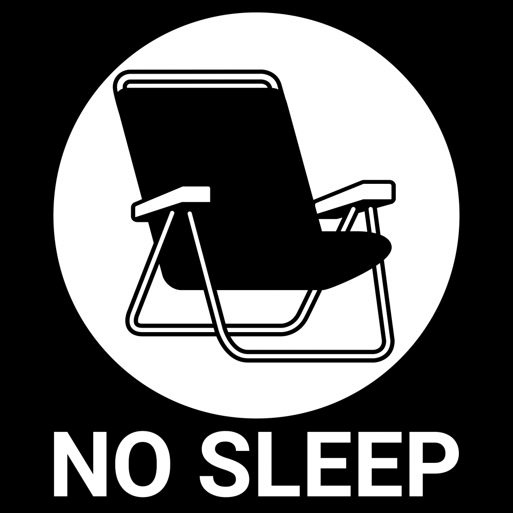 No sleep Logo