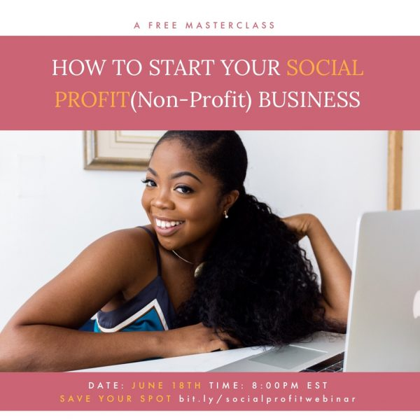 Starting Your Social Profit Business Webinar