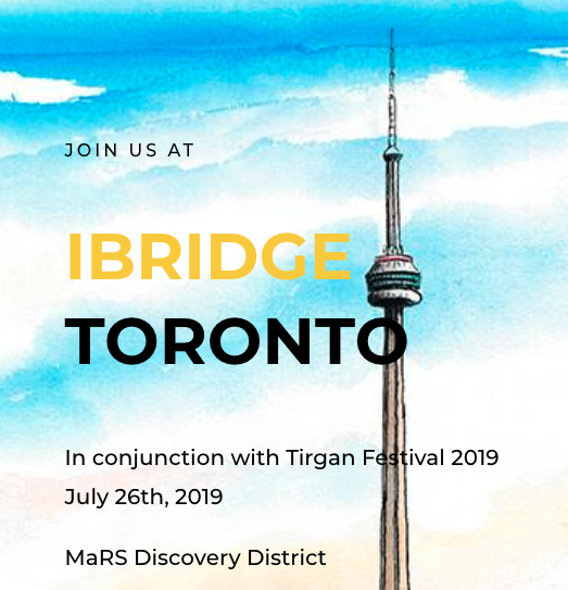 iBridge Toronto Entrepreneur Conference July 26, 2019