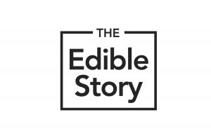 The Edible Story logo - www.theediblestory.com