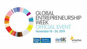 George Brown College Global Entrepreneurship Week 2019 logo