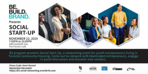 Toronto Community Housing B3 Entrepreneur Networking Event