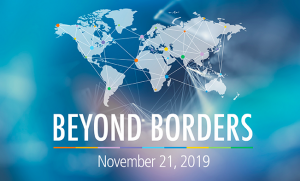 George Brown College International Centre Beyond Border Logo
