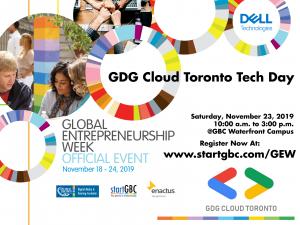 GEW GDG Cloud Toronto Saturday