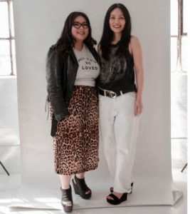Janelle Marpa and Lizelle Tucci of House of Marpa